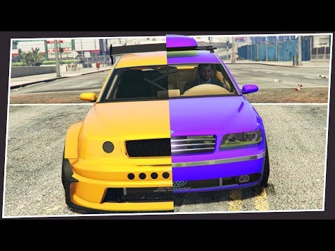 THIS CUSTOM GTA 5 CAR HAS BEEN IMPROVED 110%
