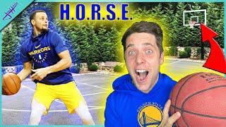 Stephen Curry Trickshot H.O.R.S.E. *NBA Edition*