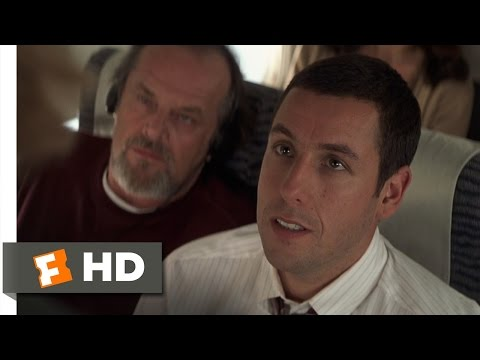 anger management 1 8 movie clip rage on a plane 2003 hd