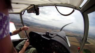 Edbj Jena Weimar Flight Trip With Zlin 42