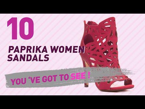 Paprika Women Sandals // New & Popular 2017