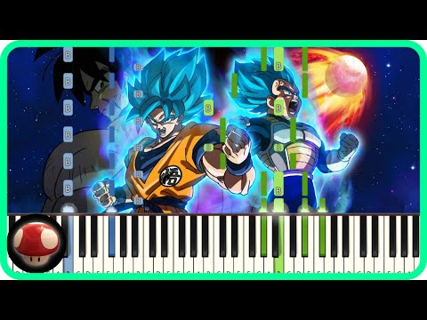 Blizzard - Daichi Miura - Piano Tutorial - Dragon Ball Super Broly Theme  By TAM - Top Anime Music - Easy Anime Piano Songs Tutorial