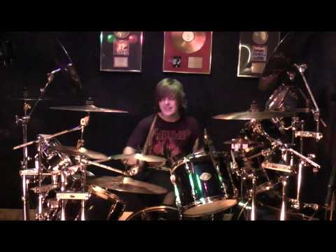 Manowar Hand Of Doom Live Drum Tribute (Three different angles)