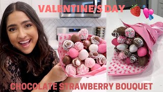 how to make a chocolate covered strawberry tower