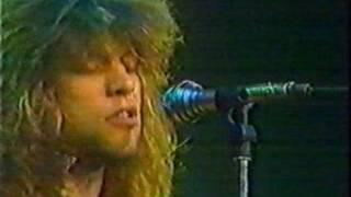 Bon Jovi - Livin' On A Prayer & Never Say Goodbye, Superchannel 1986 [AI]