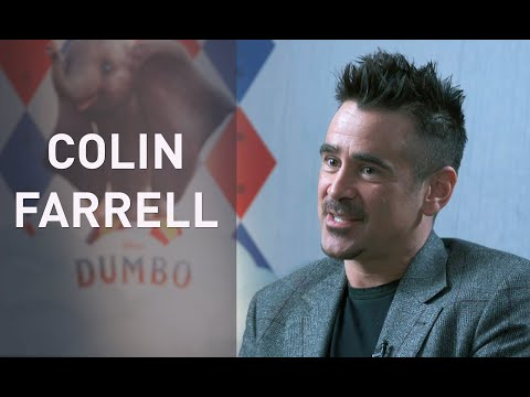 Interview with COLIN FARRELL for DUMBO