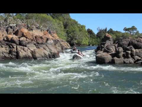 A taster of canoeing trails here at Kaingu Lodge