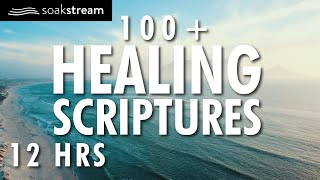 Gods Promises | 100+ Healing Scriptures With Soaking Music | Audio Bible | 12 Hours (2020)