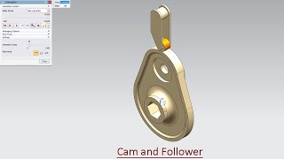 Cam and Follower--Modelling and Motion Simulation (Video Tutorial)--Siemens NX