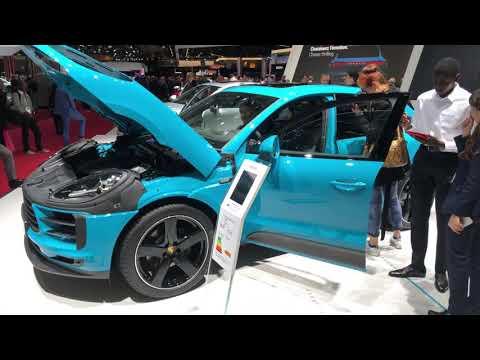 Porsche  Macan Кроссовер класса J - тест-драйв 2