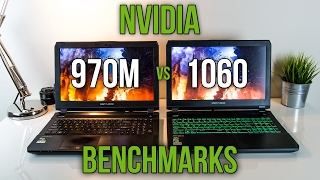 970M vs 1060 - Laptop Graphics Comparison Benchmarks