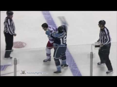 Darcy Hordichuk vs. Brandon Prust