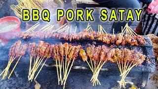 SPICY BBQ Ribs & INSANE BBQ Pork Satay in Bali Indonesia - Video Youtube