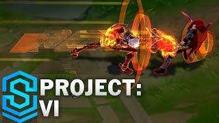 Project: Vi Skin Spotlight - League Of Legends