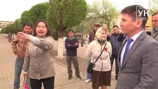 Мирный митинг в Уральске закончился задержаниями