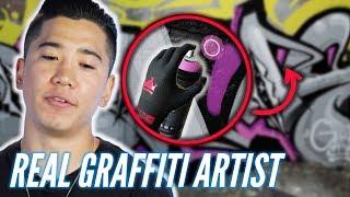 Graffiti Artist Tags A Wall In Graffiti Simulator • Professionals Play