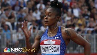 Elaine Thompson cruises to 4th straight Diamond League win in 100m   NBC Sports