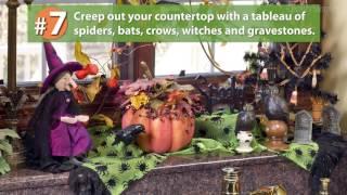 10 Spooky Halloween Decorating Ideas | A Country Sampler Design Tutorial