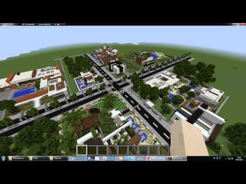майнкрафт 1.8.3 карты городов #3