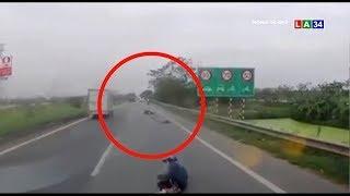 Camera nóng | Suýt chết vì thói quen đeo túi xách ra đường | LONG AN TV