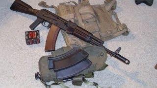 Waffen Werks AK 74- with Plum Stock