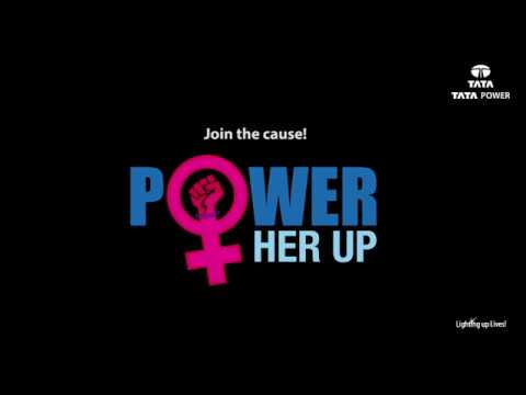 Power Her Up : Pledge to make   a difference!