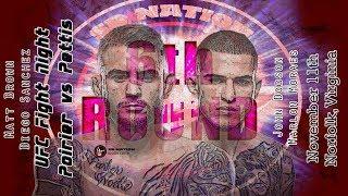 UFC Norfolk: Poirier vs. Pettis 6th Round post-fight show