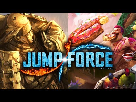 JUMP FORCE Whole Cake Island & Valley of the End! DLC Stage Speculaton!