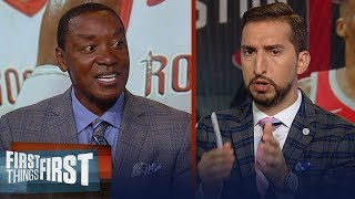 Rockets are my early favorite to come out of the West - Isiah Thomas | NBA | FIRST THINGS FIRST