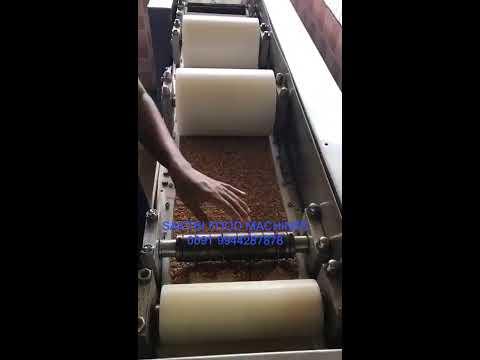 Auto Chikki Sheeting & Cutting Machine