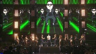 PSY   GANGNAM STYLE (강남스타일) @ Seoul Plaza Live Concert