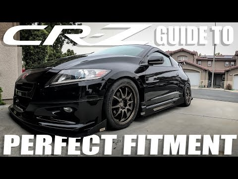 Ubey's PERFECT CRZ WHEEL FITMENT GUIDE! & my wheel poke formula
