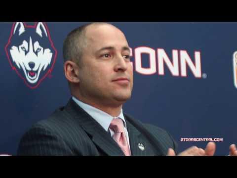 UConn Huskies AD David Benedict Talks About Hiring of Randy Edsall