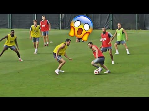 Leo Messi - Training Skills Show 2018   Part 3