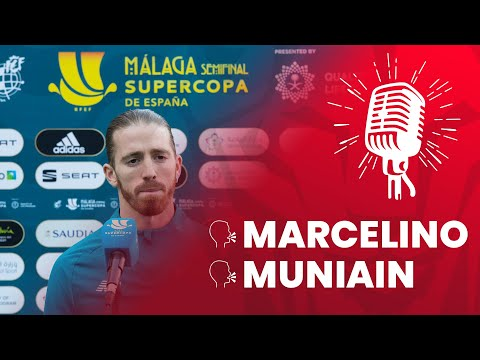 🎙️ Marcelino & Iker Muniain I pre Real Madrid – Athletic Club I 1/2 Supercopa 2020-21