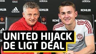 De Ligt: United Hijack Barcelona Transfer | Man Utd News
