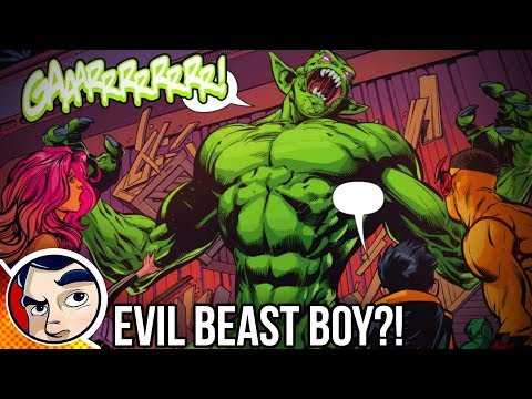 """Teen Titans """"Beast Boy Goes Evil"""" – Rebirth Complete Story"""
