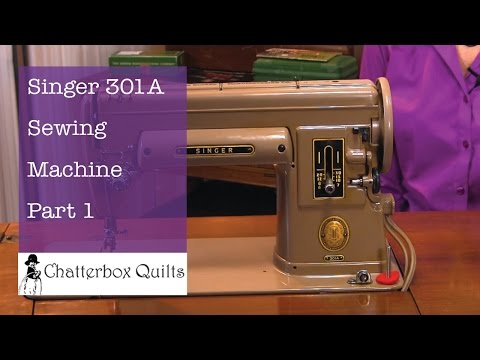 Singer 301a Sewing Machine - Part 1 - Kim's Vintage Sewing Machines 9 Mp3