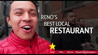 BEST LOCAL Restaurant in reno - 5 STARS? (Food Review)
