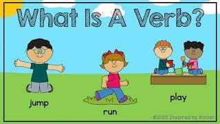 What is a Verb? (Verbs for Kindergarten/First Grade)