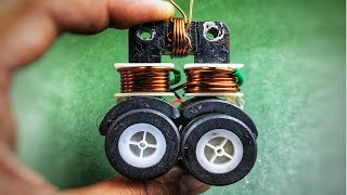 how to make free energy generator at home with dc motor | science