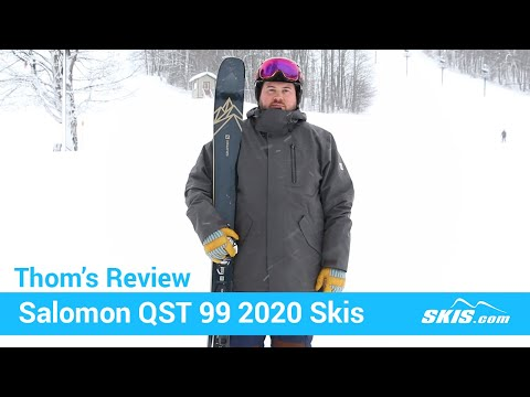 Video: Salomon QST 99 Skis 2020 20 50