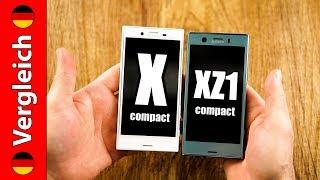 Sony Xperia XZ1 Compact gegen X Compact   das beste Kompakte gegen das zweitbeste