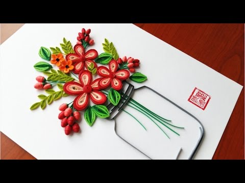 Paper quilling flower for beginner learning video 21 paper flower paper quilling flower for beginner learning video 21 paper flower design mightylinksfo