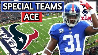 Houston Texans Michael Thomas Film Breakdown | New Free Agent Safety | Special Teams Ace