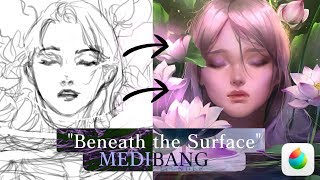 """[MediBang] """"Beneath the Surface"""" : TIMELAPSE PAINTING"""