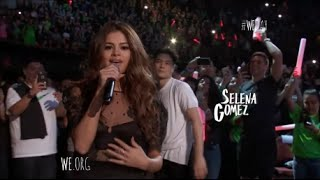 "Selena Gomez Performs ""Kill Em With Kindness"" At We Day California 4/7/2016 [HD]"