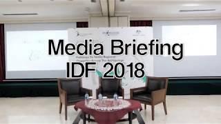 Media Briefing Indonesian Development Forum 2018