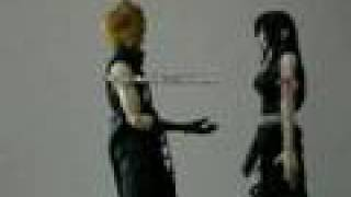 Action Figure - Cloud and Tifa - Still Here Waiting