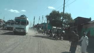 Driving from Gondar to Dabat